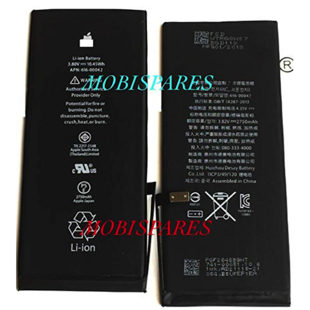 Battery for Apple iPhone 6,6 Plus,6s,6s Plus,7,7 Plus,SE,5S