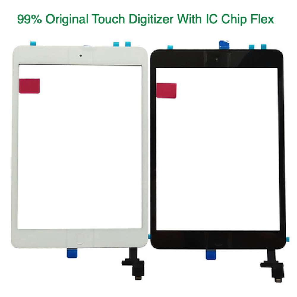 Touch Screen Digitizer with IC Chip Flex for iPad Mini 1/2 A1432 A1489
