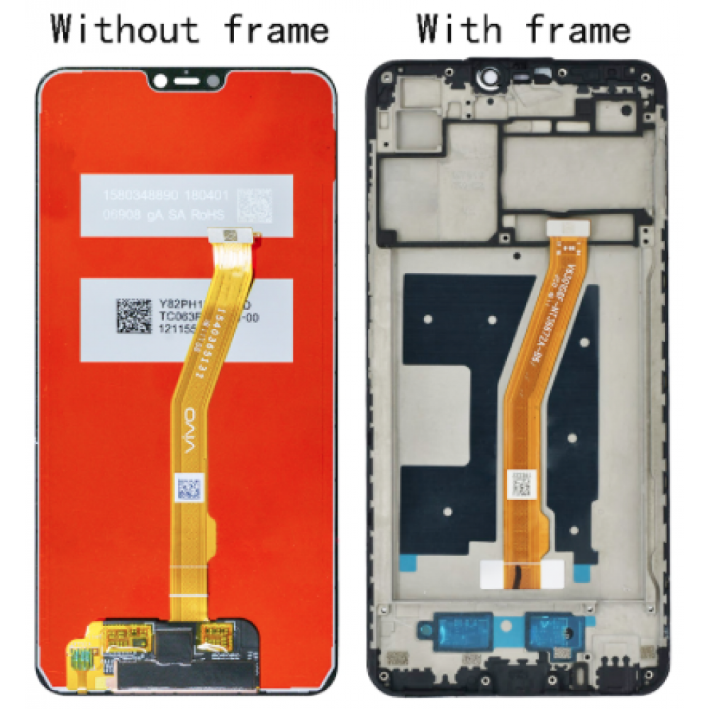 LCD Display with Touch Screen Digitizer for VIVO V9 / V9 Youth Y85
